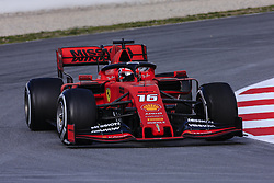 February 19, 2019 - Barcelona, Barcelona, Spain - Charles Leclerc from Monaco with 16 of Scuderia Ferrari Mission Winnow SF90 in action during the Formula 1 2019 Pre-Season Tests at Circuit de Barcelona - Catalunya in Montmelo, Spain on February 19. (Credit Image: © Xavier Bonilla/NurPhoto via ZUMA Press)