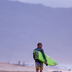 World Champion Surfer Mick Fanning on Oahu's North Shore