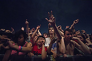 Justice performs at HARD Toronto at historic Fort York. August 4, 2012. Copyright © 2012 Chris Owyoung.