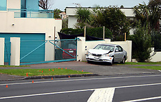 Auckland-Driver critical after colliding with two cars, Howick