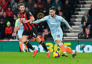 Eden Hazard (10) of Chelsea on the attack during the Premier League match between Bournemouth and Chelsea at the Vitality Stadium, Bournemouth, England on 30 January 2019.