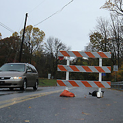 10/30/12 - Hockessin, DE - Hurricane Sandy - Brackenville Rd is close to traffic Tuesday, Oct. 30, 2012, in Hockessin DE.  ..SAQUAN STIMPSON/Special to The News Journal.