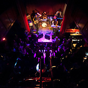 October 17, 2013 - New York, NY : The band 'Half Moon Run' performs at The Slipper Room in Manhattan on Thursday night during the third day of the 2013 CMJ Music Festival. CREDIT: Karsten Moran for The New York Times