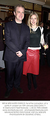 MR & MRS HARRY ENFIELD, he is the comedian, at a party in London on 15th January 2002.	OWN 11