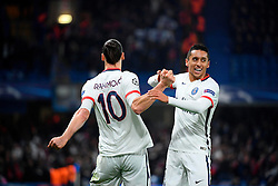 09.03.2016, Stamford Bridge, London, ENG, UEFA CL, FC Chelsea vs Paris Saint Germain, Achtelfinale, Rueckspiel, im Bild ibrahimovic zlatan, marquinhos // during the UEFA Champions League Round of 16, 2nd Leg match between FC Chelsea vs Paris Saint Germain at the Stamford Bridge in London, Great Britain on 2016/03/09. EXPA Pictures © 2016, PhotoCredit: EXPA/ Pressesports/ LAHALLE PIERRE<br /> <br /> *****ATTENTION - for AUT, SLO, CRO, SRB, BIH, MAZ, POL only*****