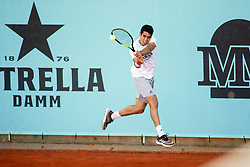 May 4, 2019 - Madrid, MADRID, SPAIN - Jaume Munar (ESP) during the Mutua Madrid Open 2019 (ATP Masters 1000 and WTA Premier) tenis tournament at Caja Magica in Madrid, Spain, on May 04, 2019. (Credit Image: © AFP7 via ZUMA Wire)