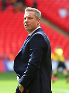 Millwall manager Neil Harris before the Sky Bet League 1 play-off final at Wembley Stadium, London<br /> Picture by Glenn Sparkes/Focus Images Ltd 07939664067<br /> 20/05/2017