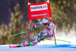 02.03.2020, Hannes Trinkl Weltcupstrecke, Hinterstoder, AUT, FIS Weltcup Ski Alpin, Riesenslalom, Herren, 1. Lauf, im Bild Henrik Kristoffersen (NOR) // Henrik Kristoffersen of Norway in action during 1st run of men's Giant Slalom of FIS ski alpine world cup at the Hannes Trinkl Weltcupstrecke in Hinterstoder, Austria on 2020/03/02. EXPA Pictures © 2020, PhotoCredit: EXPA/ Johann Groder