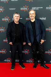 Director, Douglas Mackinnon and Composer David Arnold attend a the first ever screening of Good Omens in its entirety at the Edinburgh International Film Festival<br /> <br /> Pictured: Douglas Mackinnon & David Arnold