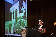 """Olga Cardoso-Vasquez, Program Director at the Llano Grande Center for Research and Development , speaks to the National Rural Assembly during the """"Speaking Rural Truth to Power"""" session on Tuesday, June 27, 2011."""