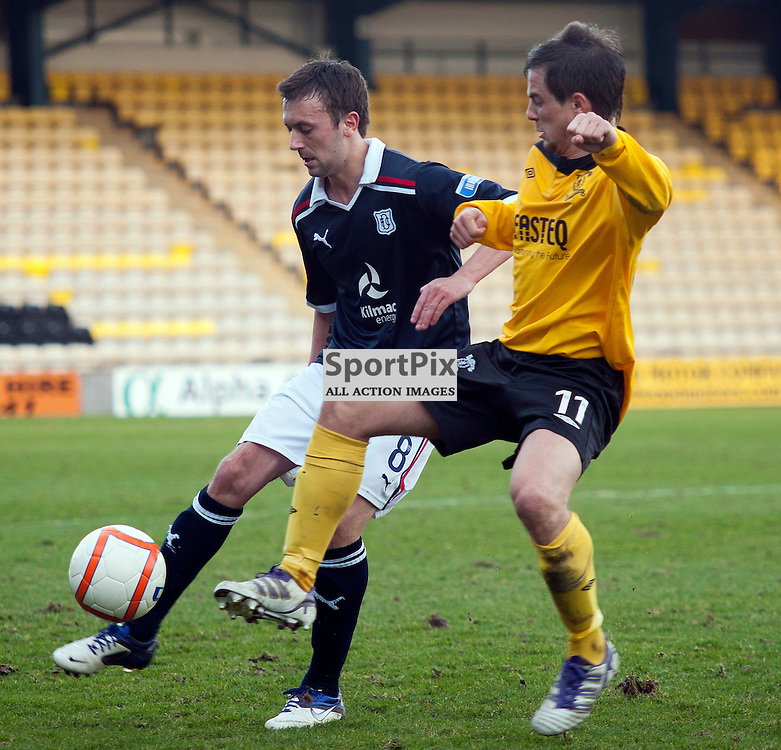 Livingston v Dundee, SFL Division 1 League Match, Falkirk Stadium, 03/03/12,
