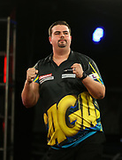 Gabriel Clemens during the 2018 Players Championship Finals at Butlins Minehead, Minehead, United Kingdom on 23 November 2018.