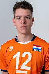 21-12-2018 NED: Photoshoot selection of Orange Young Boys, Arnhem <br /> Orange Young Boys 2018 - 2019 / Sjoerd Zegwaard #12