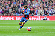 Crystal Palace's Jason Puncheon on the ball during the The FA Cup match between Crystal Palace and Watford at Wembley Stadium, London, England on 24 April 2016. Photo by Shane Healey.