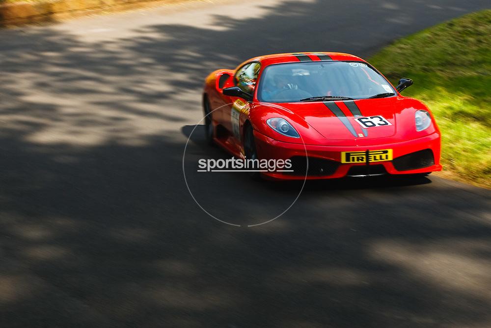 Car number 63(driven by John Marshall) at Shelsley Hill climb 6/6/10