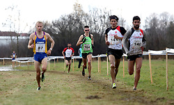 Rok Puhar of Slovenia #104 competes in the Men Category of Balkan CC Championships 2015, on November 22, 2015 in Vrbovec, Croatia. Photo by Ales Hostnik / Sportida