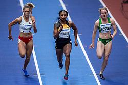 02-02-2018 GBR: World Indoor Championships Athletics day 2, Birmingham<br /> Amy Foster IRL, Elaine Thompson JAM, Isidora Jimenez CHI