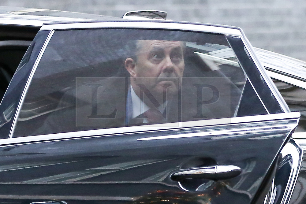 "© Licensed to London News Pictures. 18/12/2018. London, UK. Liam Fox - Secretary of State for International Trade and President of the Board of Trade arrives in Downing Street for the weekly Cabinet meeting. The Cabinet will discuss the preparations for a ""No Deal"" Brexit. Photo credit: Dinendra Haria/LNP"