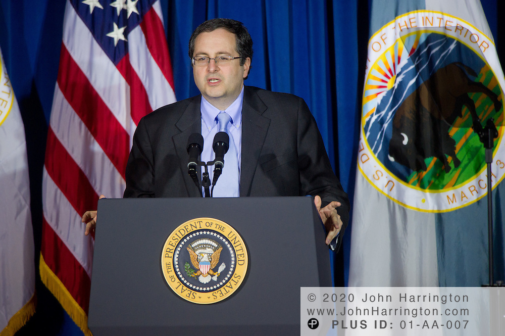 Associate Attorney General, Thomas J. Perrelli addresses the leaders of the 565 federally recognized Native American tribes at the 2011 White House Tribal Nations Conference hosted by President Barack Obama. The 2011 White House Tribal Nations Conference was held at the U.S. Department of the Interior in Washington, DC on December 2nd, 2011.