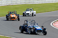#76 Marc Noaro Caterham 7 Classic 1600 during the Caterham Graduates Championship - Super / Classic Classes at Oulton Park, Little Budworth, Cheshire, United Kingdom. August 06 2016. World Copyright Peter Taylor/PSP.