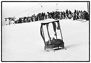 Dangerous Sports club,ski race St. Moritz. 1984.