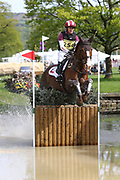 Blyth Tait (NZL) on Havanna II during the International Horse Trials at Chatsworth, Bakewell, United Kingdom on 13 May 2018. Picture by George Franks.