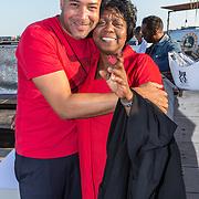 NLD/Amsterdaml/20180902 - Everon Jackson Hooi Lanceert boxerliijn  IAMTORO, Everon Jackson Hooi met zijn moeder