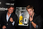 Ralph Simons, U.S. President of Frederique Constant / Alpina watches and actor Shaun Sipos