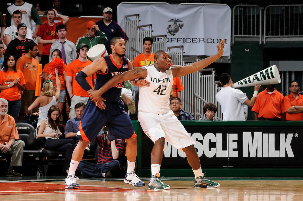 2010 Miami Hurricanes Men's Basketball vs Virginia