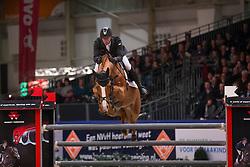 Vrieling Jur, (NED), Arezzo VDL<br /> Grote Prijs Springen<br /> KWPN Hengstenkeuring - 's Hertogenbosch 2016<br /> © Hippo Foto - Dirk Caremans<br /> 04/02/16