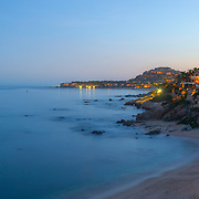 Playa Palmilla at night. San Jose del Cabo