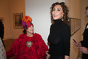 MOLLY PARKIN; MARIE HELVIN, Opening of Bailey's Stardust - Exhibition - National Portrait Gallery London. 3 February 2014