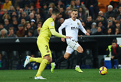 January 26, 2019 - Valencia, Valencia, Spain - Denis Cheryshev of Valencia CF during the La Liga Santander match between Valencia and Villarreal at Mestalla Stadium on Jenuary 26, 2019 in Valencia, Spain. (Credit Image: © Maria Jose Segovia/NurPhoto via ZUMA Press)