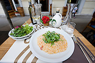 Risotto with scampi, Spagho restaurant, Rijeka, Croatia