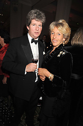 The DUCHESS OF MARLBOROUGH and GUY SANGSTER at the annual Cartier Racing Awards held at the Grosvenor House Hotel, Park Lane, London on 17th November 2008.