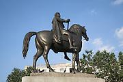 Equestrian statue of King George IV, Trafalgar Square, London, England