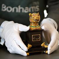 Tipu Sultan gold finial