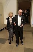 Michael and Sandra Howard. The Leader's Dinner ( Michael Howard's ) Banqueting House. Whitehall. London.  November 2005. ONE TIME USE ONLY - DO NOT ARCHIVE  © Copyright Photograph by Dafydd Jones 66 Stockwell Park Rd. London SW9 0DA Tel 020 7733 0108 www.dafjones.com