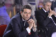 DESCRIZIONE : Roma Lega A 2012-2013 Acea Roma Lenovo Cantu playoff semifinale gara 7<br /> GIOCATORE : Nicola Alberani<br /> CATEGORIA : Pregame Before<br /> SQUADRA : Acea Roma<br /> EVENTO : Campionato Lega A 2012-2013 playoff semifinale gara 7<br /> GARA : Acea Roma Lenovo Cantu<br /> DATA : 06/06/2013<br /> SPORT : Pallacanestro <br /> AUTORE : Agenzia Ciamillo-Castoria/GiulioCiamillo<br /> Galleria : Lega Basket A 2012-2013  <br /> Fotonotizia : Roma Lega A 2012-2013 Acea Roma Lenovo Cantu playoff semifinale gara 7<br /> Predefinita :