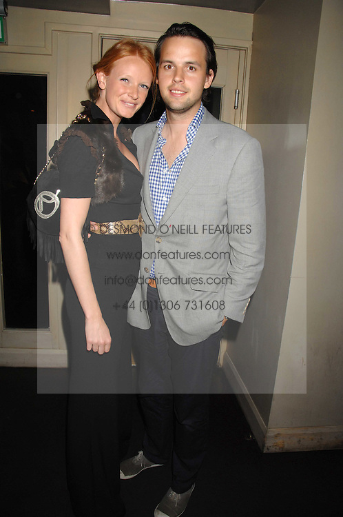 CHARLIE GILKES and OLIVIA INGE at the weigh-in party for the Boodles Boxing Ball held at Kitts 7-12 Sloane Square, London on 29th May 2008.<br /> <br /> NON EXCLUSIVE - WORLD RIGHTS