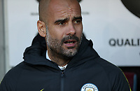 Football - 2016/2017 Premier League - Burnley vs Manchester City <br /> <br /> Manchester City Manager Pep Guardiola during the match at Turf Moor <br /> <br /> COLORSPORT/LYNNE CAMERON