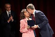 022620 King Felipe Delivery the Kingdom of Spain Award to Placido Arango 'In Memoriam'