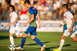 Amar Rahmanovic #8 of Luka Koper in action during First Leg football match between FC Luka Koper and HNK Hajduk Split (CRO) in Second qualifying round of UEFA Europa League, on July 16, 2015 in Stadium Bonifika, Koper, Slovenia. Photo by Vid Ponikvar / Sportida