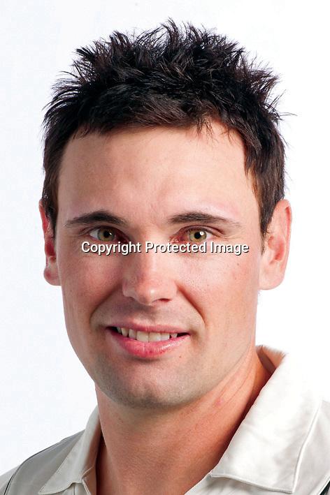 Dean Brownlie, New Zealand Black Caps cricket headshots. 2011/12 season. Photo: NZ Cricket