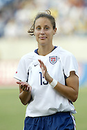 3 July 2004: Kate Markgraf. The United States beat Canada 1-0 at the The Coliseum in Nashville, TN in an womens international friendly soccer game..