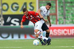 """Foto Filippo Rubin<br /> 21/10/2017 Cesena (Italia)<br /> Sport Calcio<br /> Cesena vs Fogga - Campionato di calcio Serie B ConTe.it 2017/2018 - Stadio """"Orogel Stadium""""<br /> Nella foto: COSIMO CHIRIC""""<br /> <br /> Photo Filippo Rubin<br /> October 21, 2017 Cesena (Italy)<br /> Sport Soccer<br /> Cesena vs Foggia - Italian Football Championship League B ConTe.it 2017/2018 - """"Orogel Stadium"""" Stadium <br /> In the pic: COSIMO CHIRIC"""""""