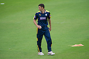 Ryan McLaren of Hampshire during the Royal London One Day Cup match between Hampshire County Cricket Club and Somerset County Cricket Club at the Ageas Bowl, Southampton, United Kingdom on 2 August 2016. Photo by David Vokes.