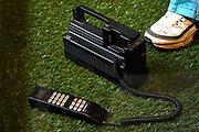 Perspreview 50 jaar Koninklijk Paleis Amsterdam.<br /> <br /> Op de foto: carvox 2500 Autotelefoon