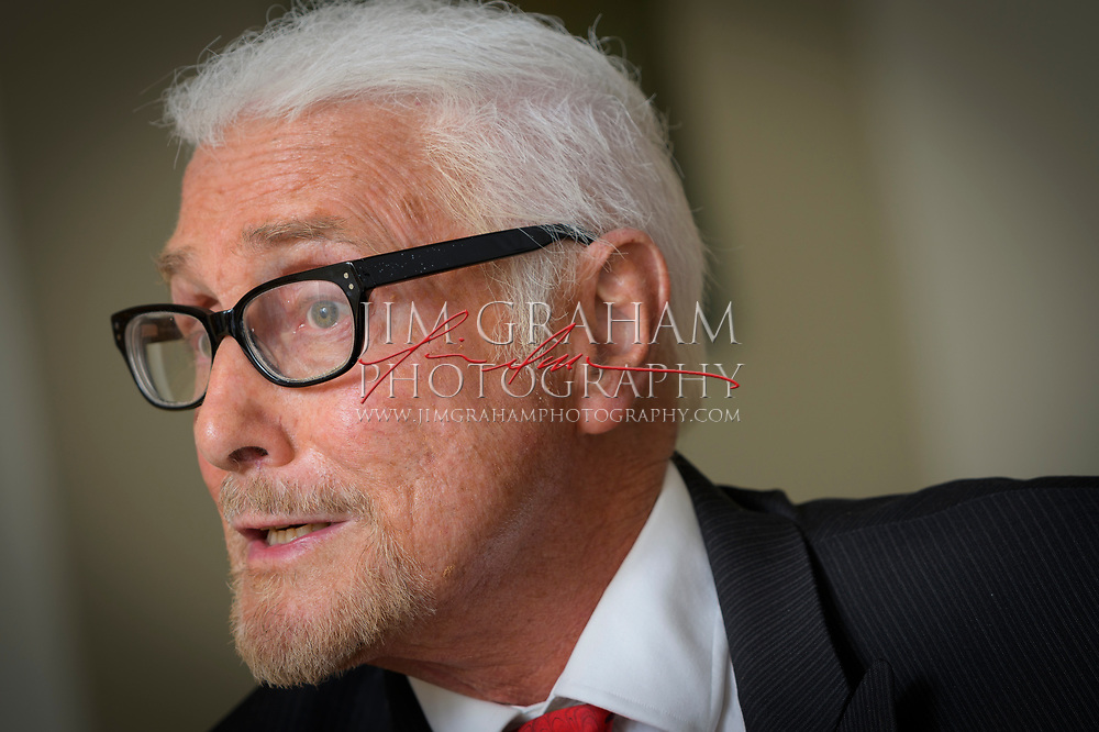 Patrick Stoner during an interview at Winterthur Museum on 28 September 2017.Photograph by Jim Graham