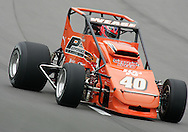 05 MAY 2007: Billy Wease (40) of Western Speed Racing qualifies before the Casey's General Stores USAC Triple Crown at the Iowa Speedway in Newton, Iowa on May 5, 2007.